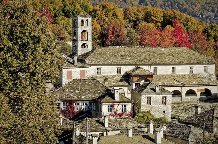 Εκκλησία Διλόφο, Φθινόπωρο στα Ζαγοροχώρια